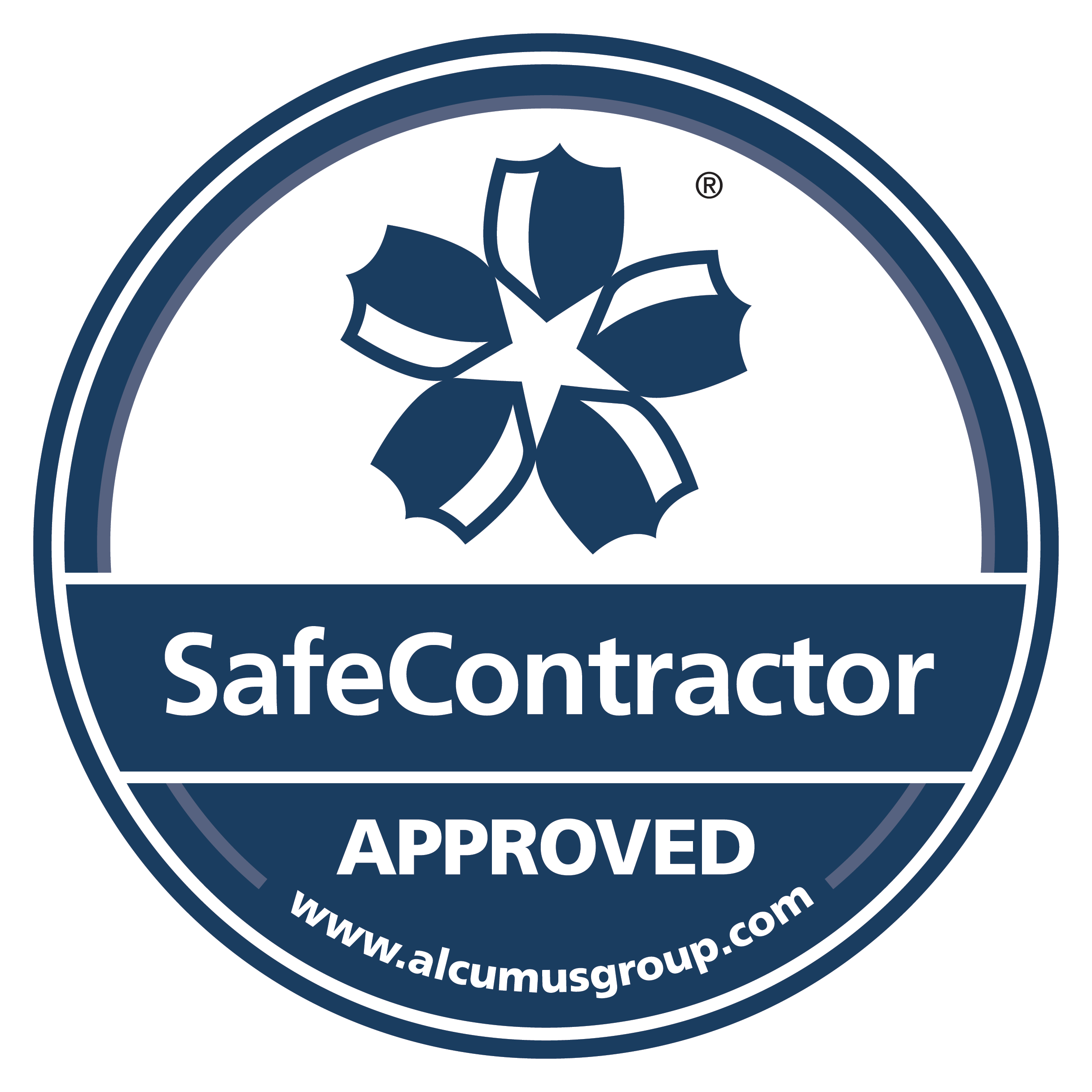 Safecontractor approved certificate logo