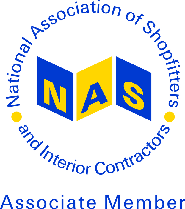 Associate member of the National Association of Shopfitters