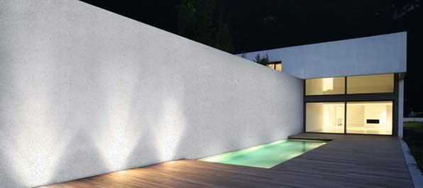 Italian plaster exterior